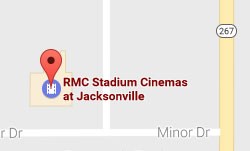 Map of RMC Stadium Cinemas location in Jacksonville, IL