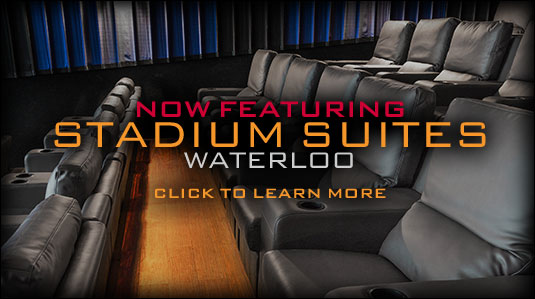 Now Featuring Stadium Suites Waterloo - click to learn more