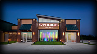 Exterior of Jacksonville RMC Stadium Cinemas