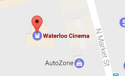 Map of RMC Stadium Cinemas location in Waterloo, IL